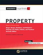 Casenotes Legal Briefs for Property Keyed to Singer, Berger, Davidson, and Penalver (Casenote Legal Briefs)