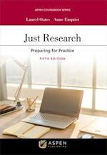 Just Research (Aspen Coursebook)