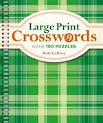 Large Print Crosswords (Large Print Crosswords, nr. 9)