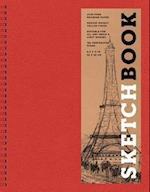 Sketchbook, Basic Large Spiral Red af Inc. Sterling Publishing Co.