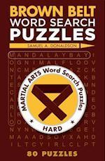 Brown Belt Word Search Puzzles af Samuel Donaldson