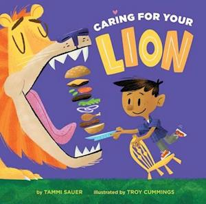 Bog, hardback Caring for Your Lion af Tammi Sauer