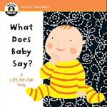 What Does Baby Say? (Begin Smart)