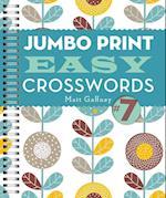 Jumbo Print Easy Crosswords (Large Print Crosswords)