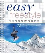 Easy Freestyle Crosswords (Easy Crosswords)