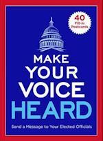 Make Your Voice Heard Postcard Book