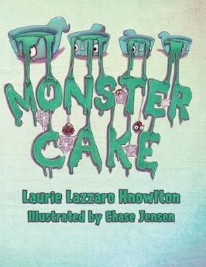Bog, hardback Monster Cake af Laurie Knowlton