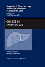 Hepatitis C Direct Acting Antivirals: The New Standard of Care, An Issue of Clinics in Liver Disease (The Clinics: Internal Medicine, nr. 15)