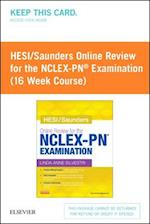HESI / Saunders Online Review for the NCLEX-RN Examination 1 Year Access Code af Linda Anne Silvestri
