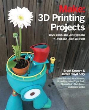 Bog, paperback 3D Printing Projects af John Baichtal