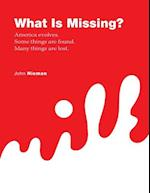 What Is Missing? - America Evolves. Some Things Are Found. Many Things Are Lost. af John Nieman