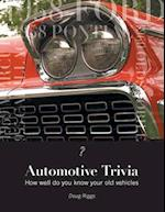 Automotive Trivia: How well do you know your old vehicles