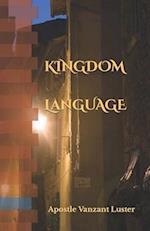 Kingdom Language af Apostle Vanzant Luster