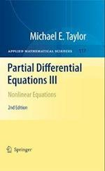 Partial Differential Equations III: Nonlinear Equations af Michael E. Taylor