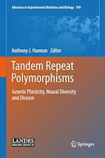 Tandem Repeat Polymorphisms (ADVANCES IN EXPERIMENTAL MEDICINE AND BIOLOGY, nr. 769)