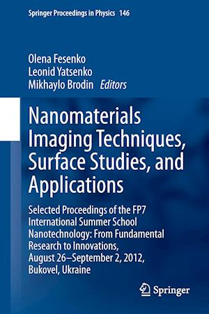 Nanomaterials Imaging Techniques, Surface Studies, and Applications