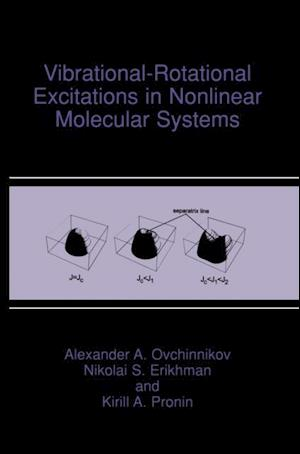 Vibrational-Rotational Excitations in Nonlinear Molecular Systems