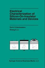 Electrical Characterization of Silicon-on-Insulator Materials and Devices af Sheng Li