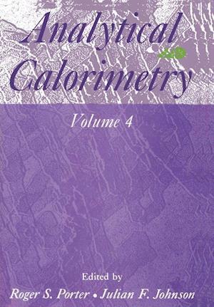 Analytical Calorimetry: Volume 4