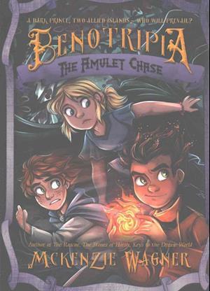 Bog, paperback The Amulet Chase af Mckenzie Wagner