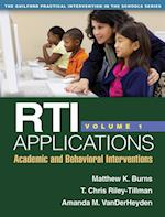 RTI Applications, Volume 1 af Matthew K. Burns, Amanda M. Vanderheyden, T. Chris Riley-Tillman