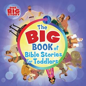 Bog, hardback The Big Book of Bible Stories for Toddlers af B, h Kids