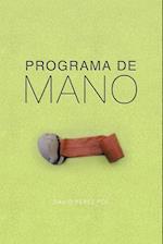 Programa de Mano af David Perez Pol