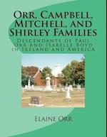 Orr, Campbell, Mitchell, and Shirley Families af Elaine L. Orr