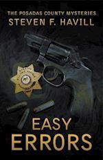 Easy Errors (Posadas County Mysteries (Paperback), nr. 22)