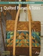 Quilted Purses and Totes af Leisure Arts