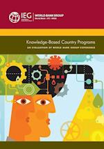 Knowledge-Based Country Programs (Independent Evaluation Group Studies)
