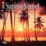 Sunrise Sunset 2018 Calendar af Browntrout Publishers