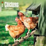 2018 Chickens Wall Calendar