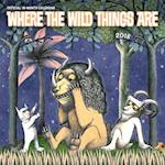 2018 Where the Wild Things Are Wall Calendar