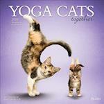 Yoga Cats Together 2018 Calendar