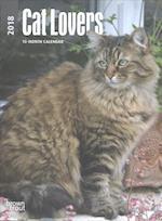 Cat Lovers 2018 Calendar