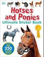 Horses and Ponies (ULTIMATE STICKER BOOKS)