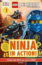 Ninja in Action (DK Readers Lego)