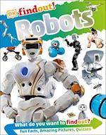 DK Findout! Robots (DK Find out)