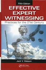 Effective Expert Witnessing, Fifth Edition