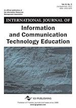 International Journal of Information and Communication Technology Education, Vol 8 ISS 3 af Tomei