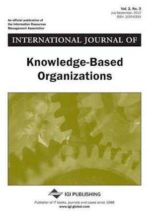 Bog, paperback International Journal of Knowledge-Based Organizations, Vol 2 ISS 3 af Wang