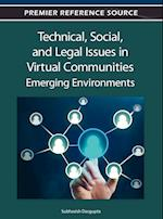 Technical, Social and Legal Issues in Virtual Communities