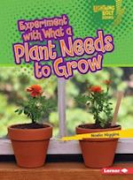 Experiment with What a Plant Needs to Grow (Lightning Bolt Books)