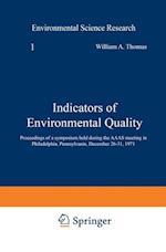 Indicators of Environmental Quality af William Thomas