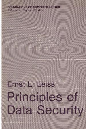 Principles of Data Security