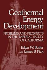 Geothermal Energy Development af James B. Pick