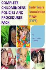 Complete Child Minders Policies and Procedures Pack