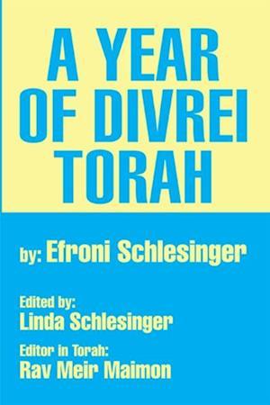 Year of Divrei Torah