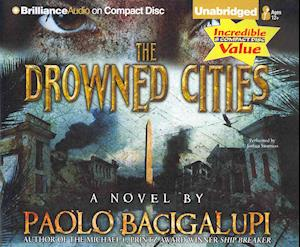 Lydbog, CD The Drowned Cities af Paolo Bacigalupi